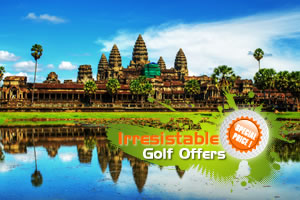 Angkor Golf & Sightseeing Tour