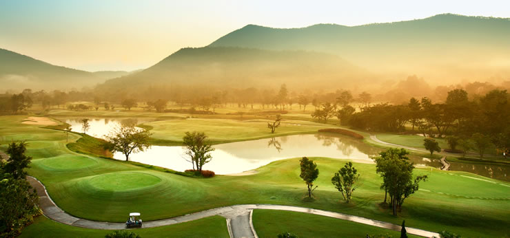 Alpine Golf Course Chiang Mai