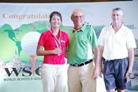 Thanapolboonyaran Pannarat American School of Bangkok Girls Gross winner