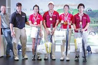 American School of Bangkok Mixed Team Gross & Net winner